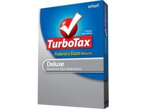 Intuit TurboTax Deluxe Federal 2012