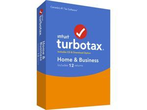 Intuit TurboTax Home & Business (12 returns) Bilingual