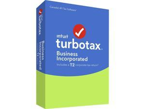 Intuit TurboTax Business Incorporated 2016, English