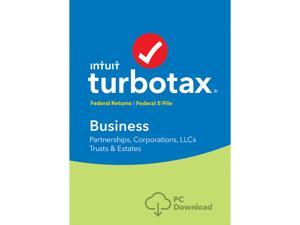 Intuit TurboTax Business 2017 Federal + Efile for Windows - Download