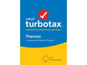 Intuit TurboTax Premier 2017, Federal with State + Efile for Windows - Download