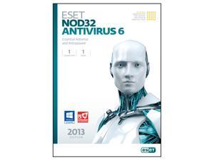 ESET Nod32 Antivirus 6 - 1 PC