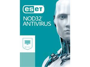 ESET NOD32 Antivirus 2018, 1 PC 1 Year - Download