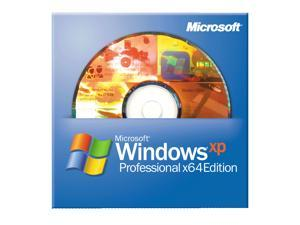 Microsoft Windows XP Professional X64 Edition with SP2B 1 Pack - OEM