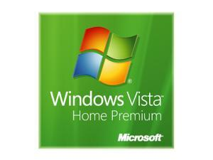 Microsoft Windows Vista 64-Bit Home Premium for System Builders Single Pack DVD - OEM