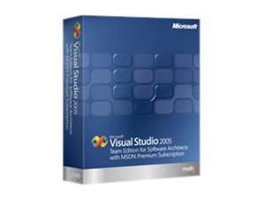 Microsoft Visual Studio 2005 Team Edition for Software Architects w/MSDN Premium Renewal