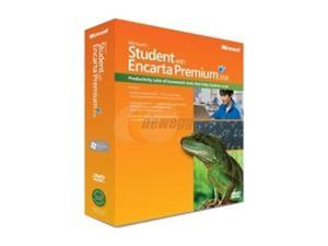 Microsoft Student with Encarta Premium 2008 Win32 Mini Box DVD