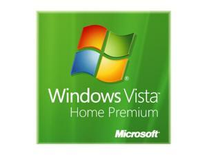 Microsoft Windows Vista Home Premium SP1 32-bit for System Builders - OEM