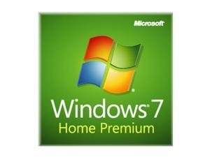 Microsoft Windows 7 Home Premium 32-bit 1-Pack for System Builders - OEM