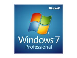 Microsoft Windows 7 Professional 64-bit 1-Pack for System Builders - OEM