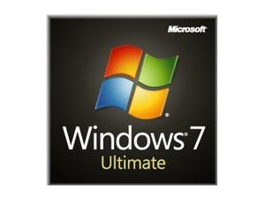 Microsoft Windows 7 Ultimate 64-bit 1-Pack for System Builders - OEM