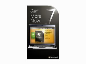Microsoft Windows Anytime Upgrade: Windows 7 Home Premium to Ultimate