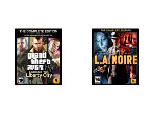 GTA IV Complete + GTA LA Noire Complete