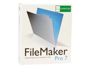 FileMaker Pro 7 Academic for Windows