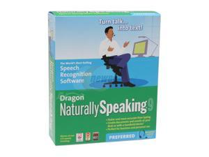 NUANCE Dragon NaturallySpeaking Preferred 9