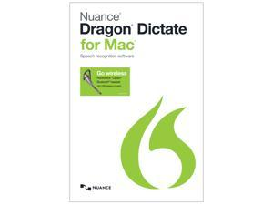 NUANCE Dragon Dictate for Mac 4.0 - Bluetooth