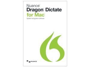 NUANCE Dragon Dictate for Mac 4.0 - Upgrade from Dictate 3 (No Headset)