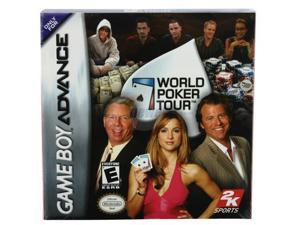 World Poker Tour GameBoy Advance Game 2K Games