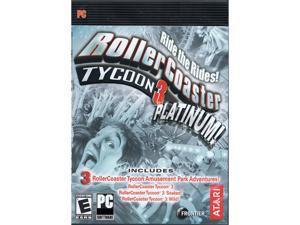 RollerCoaster Tycoon 3: Platinum (Steam) [Online Game Code]
