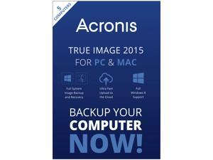 Acronis True Image 2015 For PC & Mac - 5 Devices