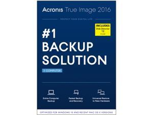 Acronis True Image 2016 w/ Disk Director 12 Bundle