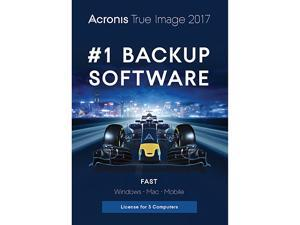 Acronis True Image 2017 - 3 Devices (Sleeve Packaging)