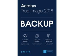 Acronis True Image 2018 - 3 Computer ESD - Download