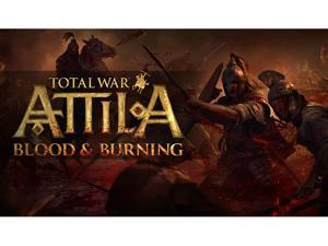Total War: ATTILA - Blood and Burning Pack [Online Game Code]