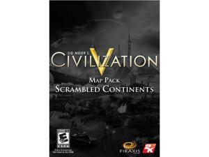 Sid Meier's Civilization 5 - Scrambled Continents Map Pack [Online Game Code]