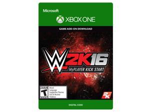 WWE 2K16 MyPlayer Kickstart Add-on Xbox One [Digital Code]