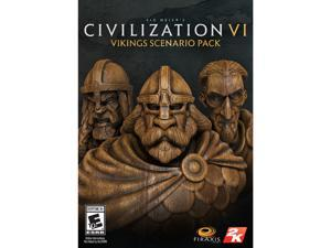 Sid Meier's Civilization VI: Viking Scenario Map Pack [Online Game Code]