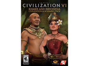 Sid Meier's Civilization VI - Khmer and Indonesia Civilization & Scenario Pack [Online Game Code]