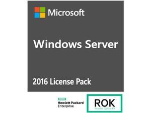 HPE ROK License - MS Windows Server 2016 - 5 user CAL