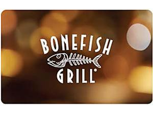 Bonefish Grill $25.00 Gift Card (Email Delivery)