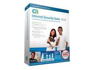 CA Internet Security Suite 2009 1 User No Rebate