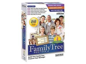 Individual Software Family Tree Heritage Deluxe 7
