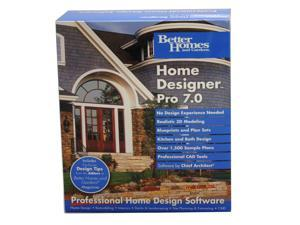 Better Homes and Gardens Home Designer Pro 70 Software