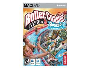 Rollercoaster Tycoon 3: Soaked Expansion Mac Game