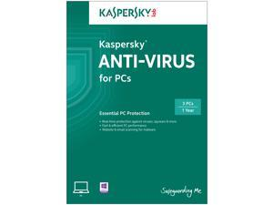KASPERSKY lab Anti-virus 2014 3 PCs - Download