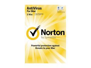 Symantec Norton Antivirus Mac 1 User