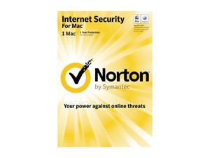 Symantec Norton Internet Security Mac 1 User