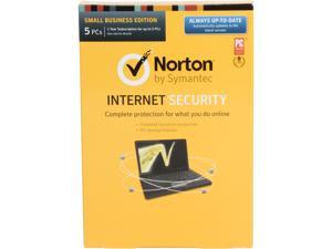 Symantec Norton Internet Security 2014 - 5 PCs