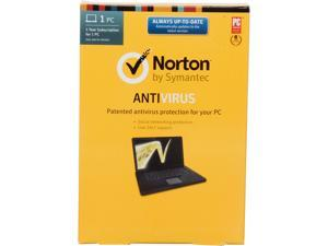 Symantec Norton Antivirus 2014 - 1 PC