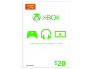 Xbox $20 Gift Card (Attach Only)