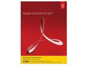 Acrobat Pro 2017 Student & Teacher Mac (Verification Required) - Download