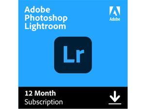 Adobe Photoshop Lightroom CC Plan - 1 Year Subscription (PC/MAC Digital)