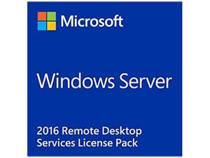 Microsoft Windows Remote Desktop Services 2016 5 User CAL Box Pack