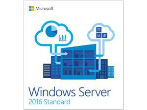 Microsoft Windows Server 2016 Standard 64-bit 10Cal Box Pack