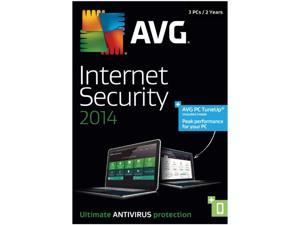 AVG Internet Security + PC TuneUp 2014 - 3 PCs (2-Year) - Download