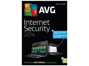 AVG Internet Security + PC TuneUp 2014 - 3 PCs / 2-Year
